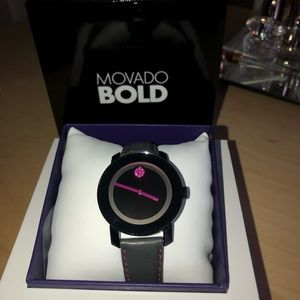 Movado Bold Special Edition Breast Cancer Watch